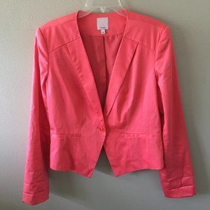 NEW halogen cotton blazer jacket